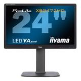 Iiyama ProLite XB2472HD 24 inch LED Backlit LCD Monitor 3000:1 250cd/m2 1920x1080 8ms D-Sub/DVI-D/HD